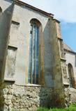 阿尤德,特兰西瓦尼亚,罗马尼亚著名堡垒  库存照片