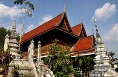 阿尤特拉利夫雷斯,泰国:Wat Na Phramane 免版税库存图片