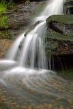 阿巴拉契亚山脉瀑布 库存图片