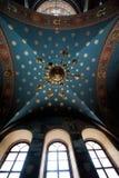 阿布哈兹的圣洁大都会内部  免版税图库摄影
