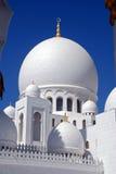 阿布扎比东部中间清真寺回教族长阿拉伯联合酋长国zayed 免版税库存照片