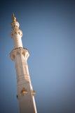 阿布扎比全部清真寺回教族长zayed 免版税库存图片