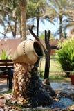 阿布扎比喷泉 库存照片