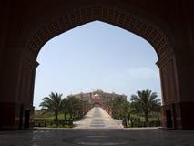 阿布扎比宫殿 图库摄影