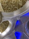 阿布扎比扎耶德Mosque,阿联酋回教族长 图库摄影