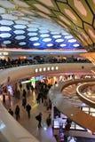 阿布扎比机场 免版税库存照片