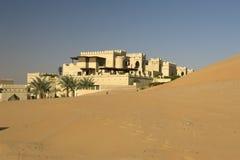 阿布扎比沙漠 库存照片