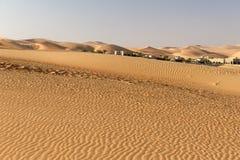 阿布扎比沙漠 库存图片