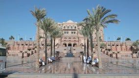 阿布扎比酋长管辖区宫殿 图库摄影