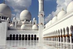 阿布扎比,阿联酋回教族长扎耶德Mosque - 库存照片