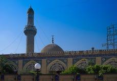 阿布格莱布Hanifa清真寺在巴格达,伊拉克 免版税库存照片