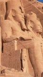 阿布格莱布Simbel。埃及 免版税库存图片