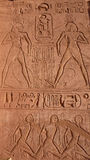 阿布格莱布Simbel。埃及 免版税库存照片