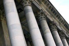 阿德莱德房子大理石议会柱子 库存照片