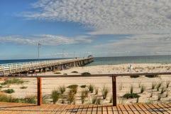 阿德莱德海滩 免版税库存照片