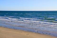 阿德莱德澳洲海湾海滩larg s 免版税库存图片