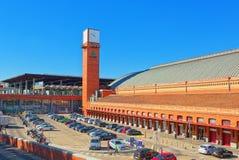 阿托查在广场del恩佩拉多卡洛斯五世Empero的火车站 库存图片