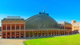 阿托查在广场del恩佩拉多卡洛斯五世Empero的火车站 免版税库存图片