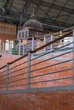 阿托查火车站建筑学细节在马德里 库存图片