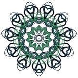阿拉伯五颜六色的坛场 种族部族装饰品 免版税库存照片