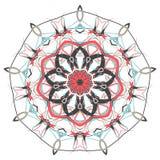 阿拉伯五颜六色的坛场 种族部族装饰品 免版税库存图片