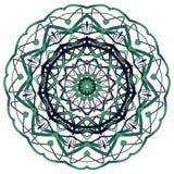 阿拉伯五颜六色的坛场 种族部族装饰品 库存照片