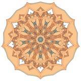阿拉伯五颜六色的坛场 种族部族装饰品 库存图片