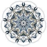 阿拉伯五颜六色的坛场 种族部族装饰品 图库摄影