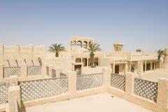 阿拉伯人重建村庄 免版税图库摄影