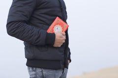 阿拉伯伊斯兰教的圣洁koran书 库存图片