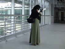 阿拉伯传统妇女 库存照片