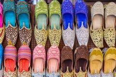 阿拉伯传统鞋子 库存图片