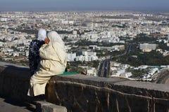 阿拉伯儿童妇女 免版税库存图片