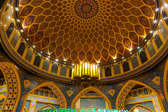 阿拉伯内部艺术伊本・白图泰购物中心-迪拜 免版税库存照片