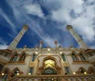 阿拉伯印度喀拉拉kovalam清真寺穆斯林 免版税库存图片