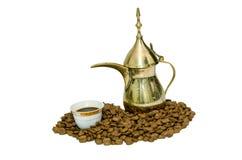 阿拉伯咖啡 免版税库存图片