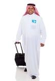 阿拉伯商人旅行 库存照片