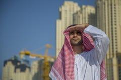 年轻阿拉伯商人 免版税库存照片