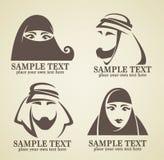 阿拉伯商标 库存例证