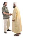 阿拉伯回教生意人 库存图片