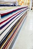 阿拉伯地毯商店 库存图片