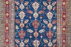 阿拉伯地毯纹理背景 免版税库存照片