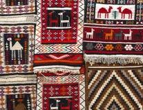 阿拉伯地毯 免版税库存照片