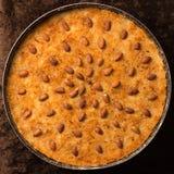 阿拉伯埃及甜点和点心 免版税库存图片