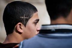阿拉伯基督徒巴勒斯坦人 图库摄影