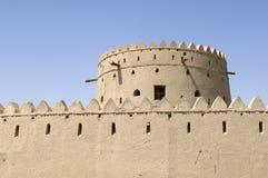 阿拉伯堡垒在Al Ain 免版税库存图片