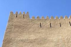 阿拉伯堡垒在Al Ain 免版税图库摄影