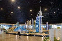 阿拉伯塔的乐高缩样,一最可认识的大厦在迪拜 图库摄影