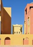 阿拉伯大厦样式 免版税库存图片