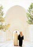 阿拉伯夫妇穆斯林 图库摄影
